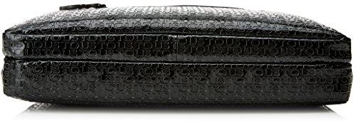 Tous Maletín Lindsay - Borse a secchiello Donna, Negro (Black / Black), 3x29x38 cm (W x H L)