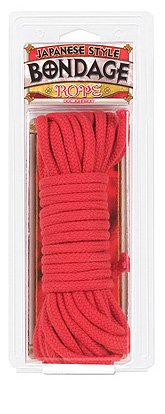 Doc Johnson - Japanese Style Bondage Rope - RED