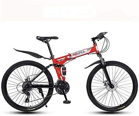 HYCy Bicicleta Plegable De Bicicleta De Montaña para Hombres Y ...