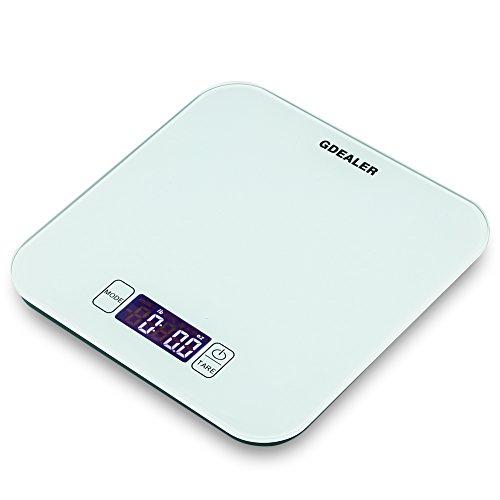 GDEALER Kitchen Scale 22lb/10kg Digital Kitchen Food Scale,