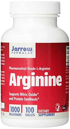 Jarrow Формулы L-аргинин 1000 мг, 100 таблеток