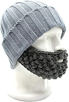 Hombres Mujeres Sombreros de barba de cúpula de punto, Unisex ...