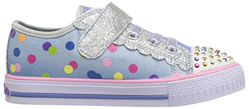 Skechers Shuffles Dazzle Dots, Mädchen Blau