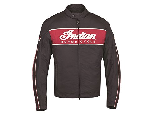 (Indian Motorcycle Men's 1901 Lightweight Jacket, 3XL, 286617714)