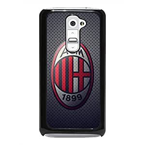 LG G2 Cover,AC Milan Phope Funda,Football Culb Phone Cover,Hard Plastic Phone Cover