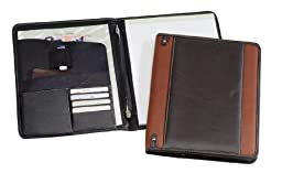THE NEW Yorker Napa Leather Padfolio - Rust (Bellino)