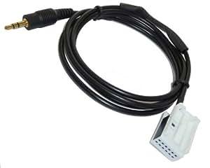 AUX Cable Adaptador BMW MINI ONE COOPER S Radio IMPULSOR para iPod iPhone etc. Line in