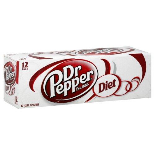 Dr Pepper Soda, Diet, 144 Fl. Oz.