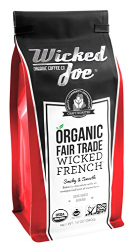 Wicked Joe Coffee Wicked French Ground, 12 oz