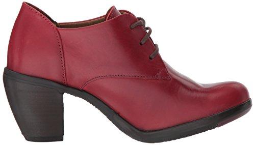 Punta London Hira128fly Cerrada Tacón Rojo De Fly red Mujer Con Zapatos Para YRwAAq