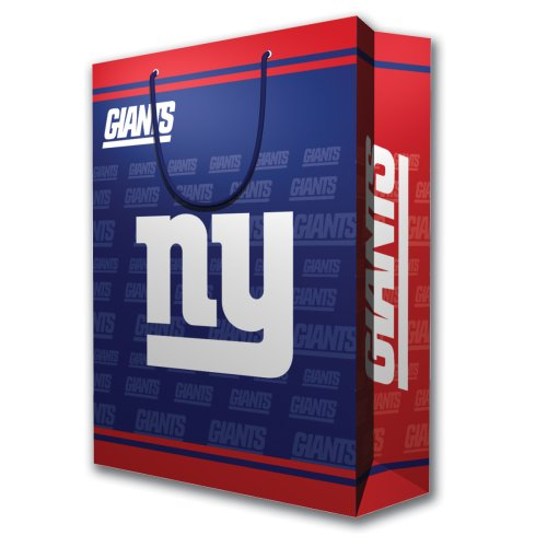 NFL New York Giants Gift Bag, Large