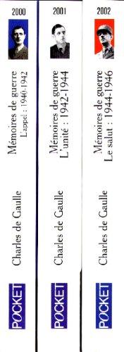 Mémoires de guerre : L'appel, 1940-1942 ; L'unité, 1942-1944 ; Le salut, 1944-1946 par Gaulle