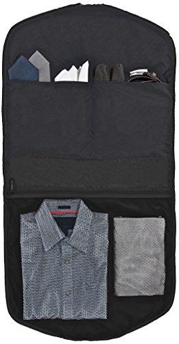 Business Kleidersack für Anzüge - Kleiderschutz-Hülle faltbar & wasserabweisend - optimal für Flugzeug-Reisen nur mit Handgepäck - SkyHanger® DEGELER Anzugtasche & Business-Tasche für Herren schwarz