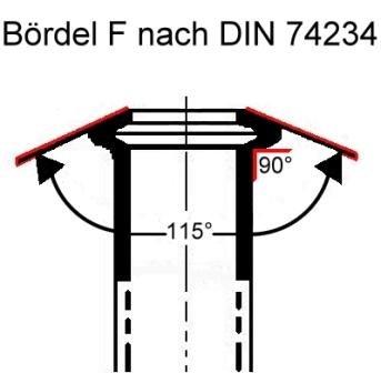 1/x Raccord de conduite de frein 20/x 10/x connecteur 4,75/mm b/ördel F de qualit/é professionnelle fabriqu/é en Allemagne