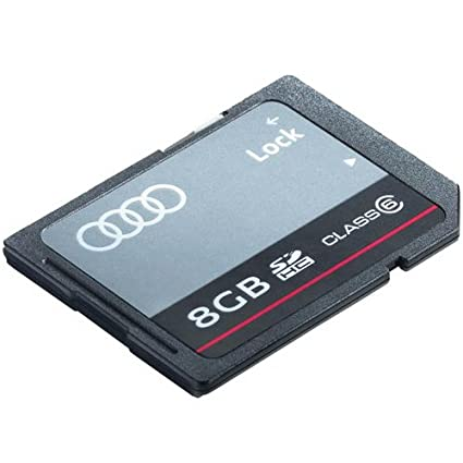 Audi 8r0063827 F de tarjeta SDHC 8 Gb