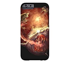 #5 Tiger Shark iPhone 6 Black Barely There Phone Case - Design By Humans by mcsharks