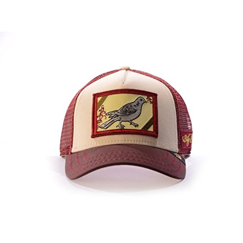 Gorra maroon 4405 DIRTY Goorin 101 BIRD Bros SxrqRw4S