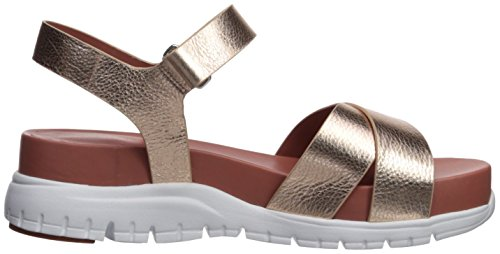 Gold Sandal Women's Rose Zerogrand Leather Cole Flat Haan Ii q0R5ntz