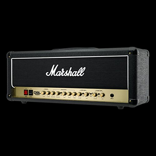 Marshall DSL Series DSL100H 100-Watt All-Tube Guitar Amplifier Head - Black 100w Guitar Head