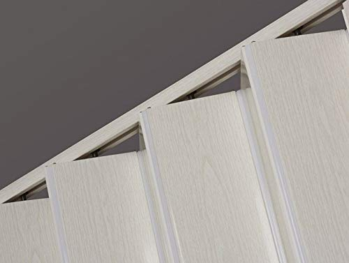 Spectrum OK32-3680F Oakmont 32 to 36 x 80 Accordion Folding Door Frost White