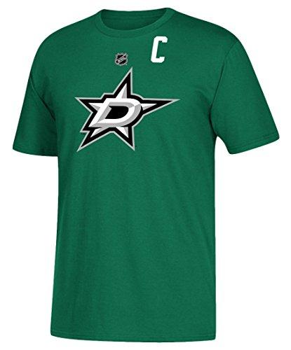 adidas Jamie Benn Dallas Stars NHL Men's Green Player - Stars Shirt Dallas