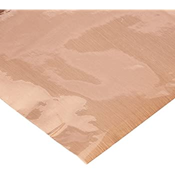 Con-Tact Brand Faux Metal FX Creative Covering Self-Adhesive Shelf and Drawer Liner, 18-Inches by 6-Feet, Brushed Copper