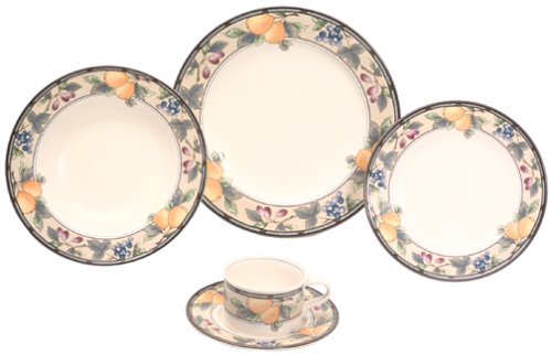 Mikasa Garden Harvest 5-Piece Place Setting
