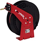 Reelcraft RT650-OLP 3/8-Inch by 50-Feet Spring Driven Hose Reel for Air/Water