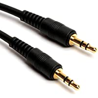 100FT 3.5mm Aux Auxiliary Cord Male to Male Stereo Audio Cable for MP3 Car IPOD PC