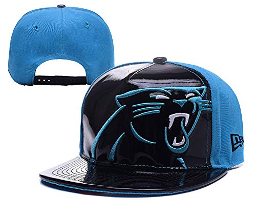 Carolina Panthers Skull Cap (Adult Men's Carolina Panthers Snapback Cap Adjustable)