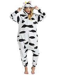 Ninimour Unisex Adult Kigurumi Pajamas Cosplay Costume Sleepwear