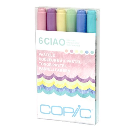 Copic Ciao Marker Set 6 Pastels