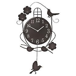 WalterDrake Atomic Swinging Bird Pendulum Clock