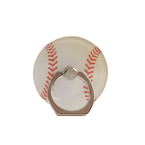 ZOEAST(TM) Sport Ball Phone Ring Universal 360° Rotating Buckle Tablet Finger Grip Ring Stand Holder Kickstand Tablets iPhone 4S 5 5S 6 6S SE 7 8 Plus X Samsung Android iPad (Baseball) (Rotating Baseball Watch)