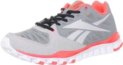 Reebok Men's Realflex Transition 2.0 Cross-Training Shoe,Flat Grey/Zinc Grey/Vitamin C,8.5 M US