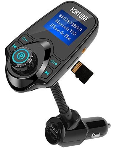 8 In 1 T10 Wireless In-Car Bluetooth FM Transmitter for sale  Delivered anywhere in USA
