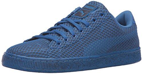 Puma Mens Basket Classic Night Camo Fashion Sneaker Puma Royal