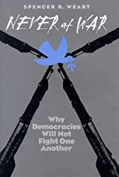 Never at War, Why Democracies Will Not Fight One Another