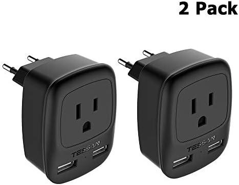 European Adapter TESSAN Europe Charging product image