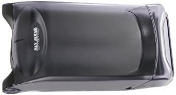 "San Jamar H5001 Venue Countertop Fullfold Classic Napkin Dispenser, 550 Capacity, 8"" Width x 7-1/4"" Height x 15-3/4"" Depth, Clear"