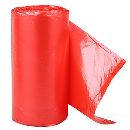 Small Garbage Bags : Colored small size garbage rubbish trash wastebasket bags
