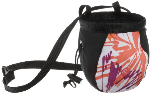 prAna Women's Women's Chalk Bag with Belt (Orchid Burst, One Size), Outdoor Stuffs