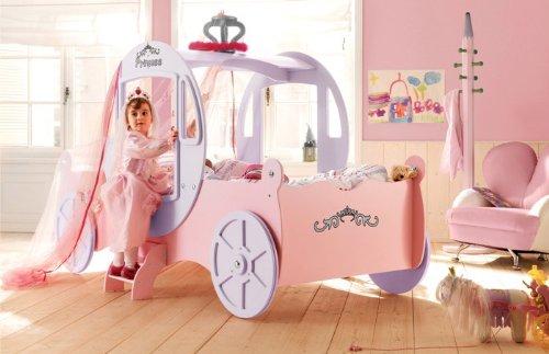Kinderbett Kutschbett Sissi für Prinzessinnen: Amazon.de: Küche ...