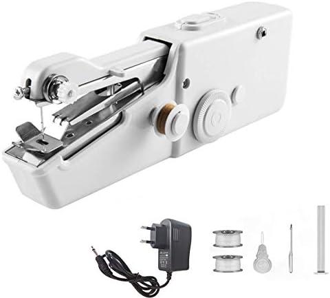 MEETOZ Máquina de coser portátil de mano, máquina de coser ...