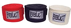 Everlast 4455-3 Protective Boxing Hand Wraps 3 Pairs New by Home Comforts