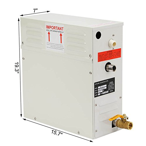 ChefStore Steam Generator Shower Sauna Steamer 7 KW with Digital Timer Temperature Control 220V