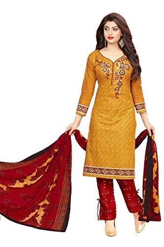19eb0b4ec Aalia Women s Cotton Unstitched Salwar Suit Dress Material (BHP12 ...