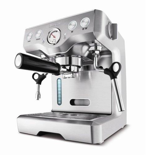 Breville BES820XL Die-Cast 15-Bar Programmable Espresso Machine