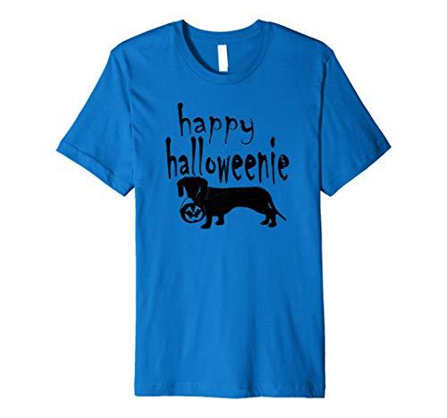 Dachshund Halloween Shirt (Dachshund Costume Halloween Happy Halloweenie Wiener Premium)