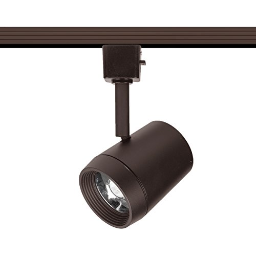 (WAC Lighting H-7011-930-DB LED 7011 Oculux Head with Beam Adjustment for H Track, Dark Bronze)